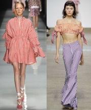 модный тренд лета 2017 клетка