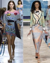 модный тренд 2017 клетка Vichy