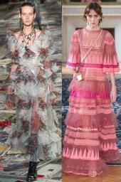 модные тенденции весна лето 2017 воланы и рюши