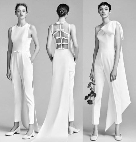 свадебный наряд с брюками Viktor&Rolf bridal