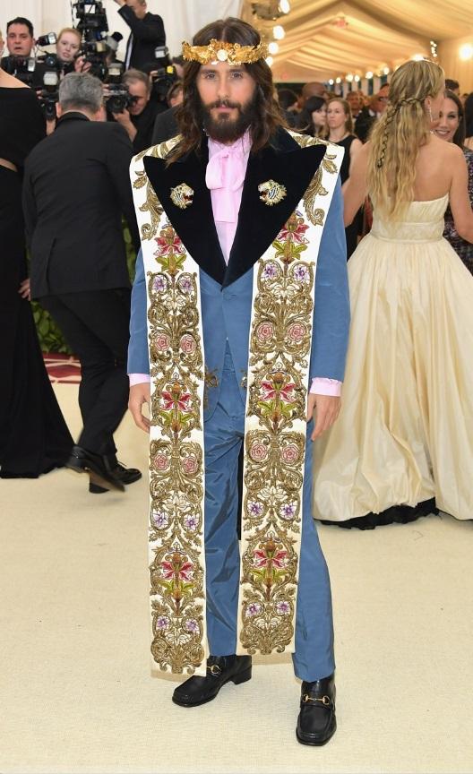 Jared Leto in Gucci