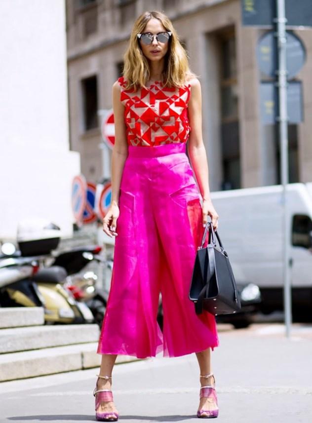 модные кюлоты 2019 как носить