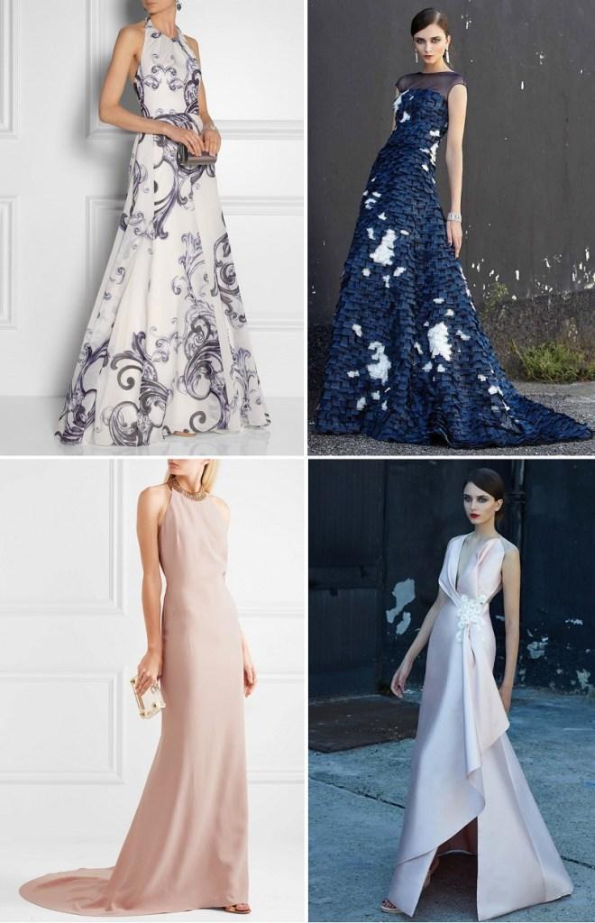 вечерние платья на свадьбу