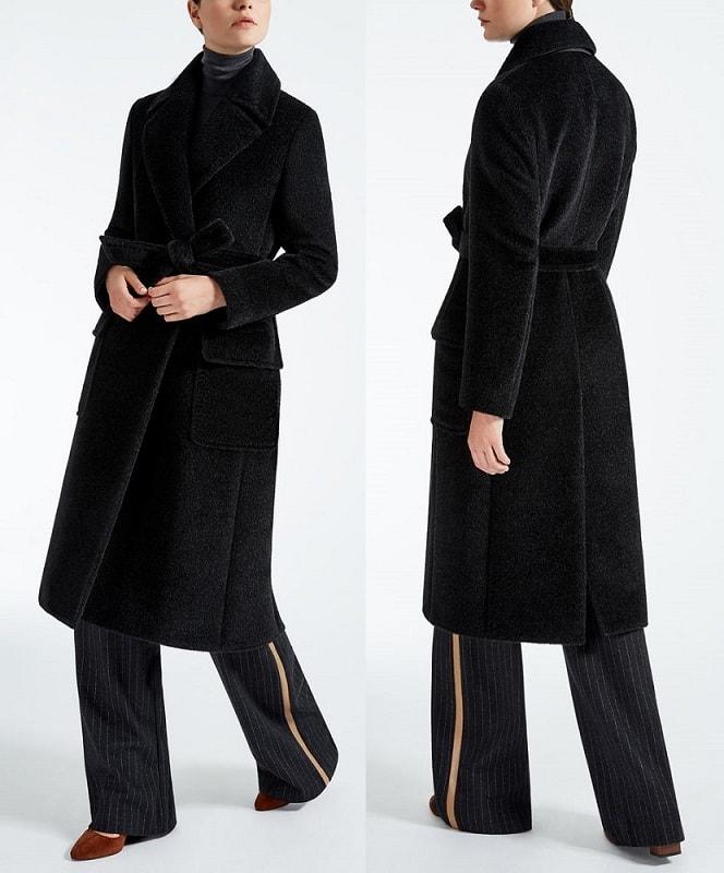 Пальто из шерсти и альпаки MELANIA Max Mara