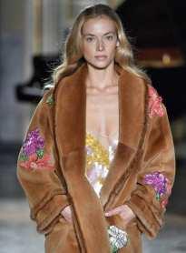 модная шуба италия Блюмарин в Милане
