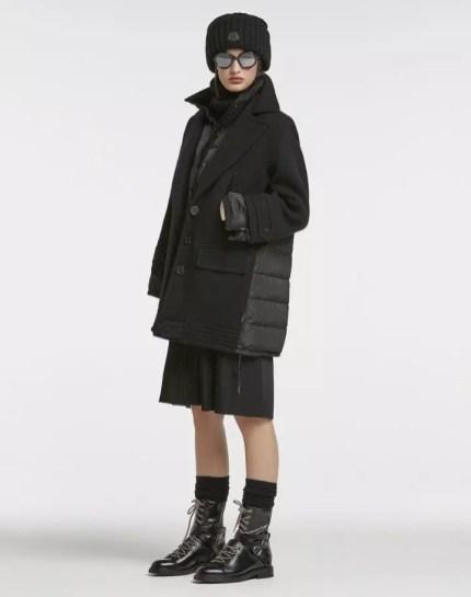модный итальянский пуховик пальто монклер