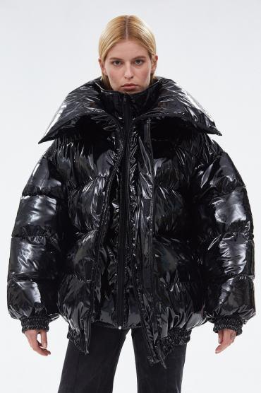 крутой модный пуховик зима 2018 оверсайз Vetements