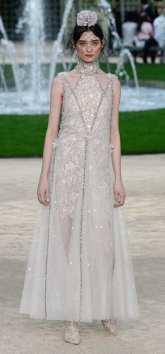 оригинальное свадебное платье Шанель