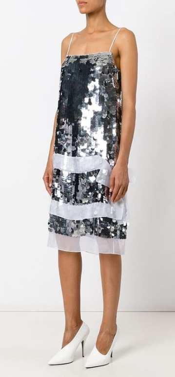 модные вечерние платья 2018 christopher kane