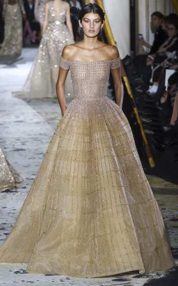 zuhair murad couture 2018 очень красивое свадебное платье