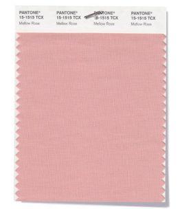 модный розовый цвет Pantone 15-1515 Mellow Rose
