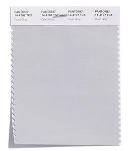 модный нейтральный серый Пантон осень 2018 PANTONE 14-4107 Quiet Gray