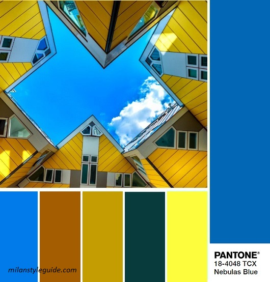color fashion trend fall 2018 2019 PANTONE 18-4048 Nebulas Blue