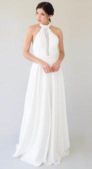 Самые модные свадебные платья 2019 с американской проймой