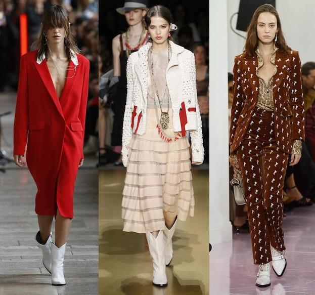 тренд белая обувь мода весна лето 2018