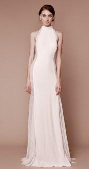 Самые модные свадебные платья 2019 с американской проймой Tadashi Shoji bridal fall 2019