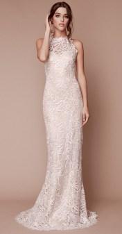 Tadashi Shoji bridal fall 2019 Самые модные свадебные платья 2019 с американской проймой