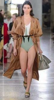 тренч bottega veneta мода весна лето 2018