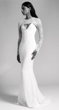 cushnie fall 2019 bridal