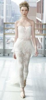 модный свадебный наряд с брюками 2019 gracy accad