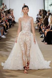 модная тенденция 2019 свадебный комбинезон для невесты Ines di Santo wedding dresses fall 2019