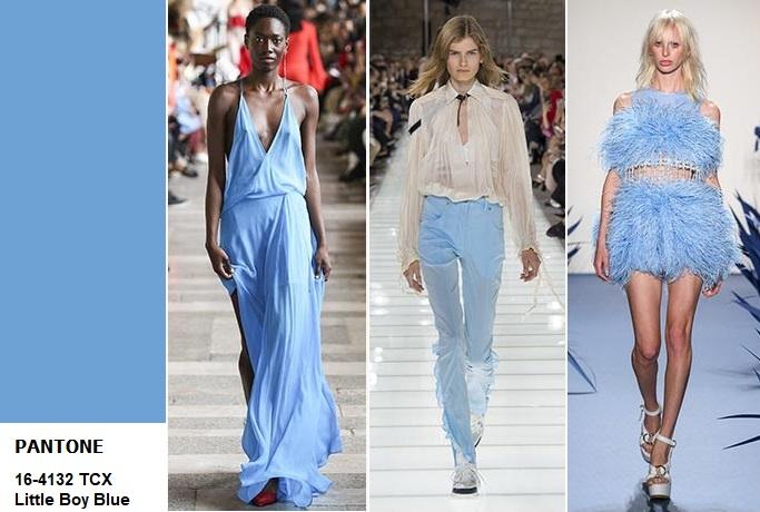 little boy blue Pantone spring 18 fashion
