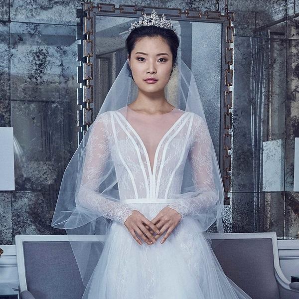 модные свадебные платья 2019 - тенденция - принцесса