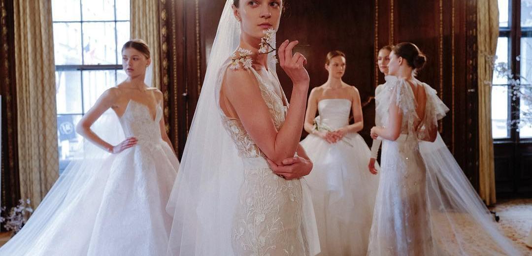 89b423ab936 Главные тенденции свадебной моды и модные свадебные платья 2019 -