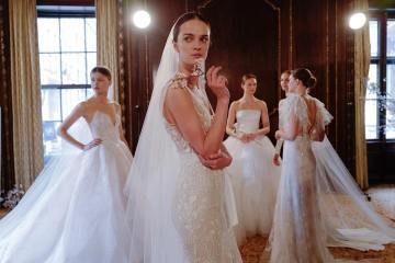 самые модные свадебные платья 2019 - модные тенденции и главные тренды свадебная мода 2019