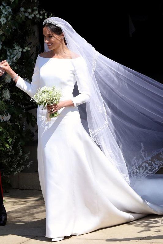 Меган Маркл и ее свадебное платье Givenchy