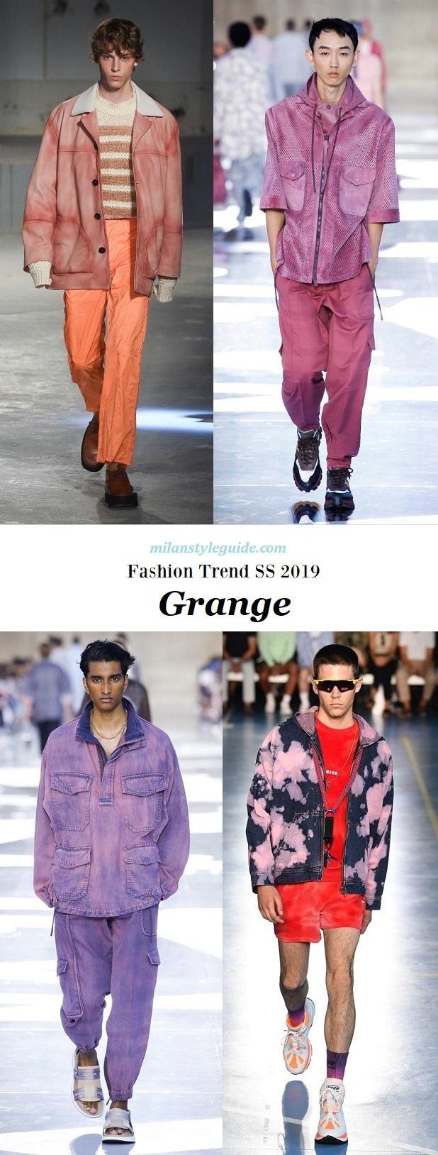модная тенденции 2019 поношеность