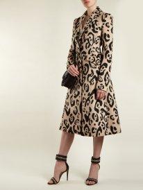 leopard coat - модное леопардовое пальто осень 2018