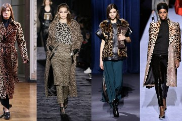 Fashion trend Fall winter 18 trend leopard