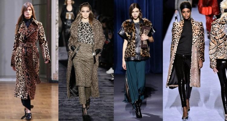 Fashion trend Fall winter 18 trend leopard