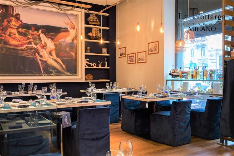 лучший ресторан в Милане рыба La bottarga