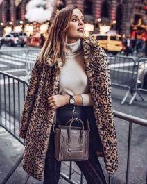 как элегантно носить леопардовый принт
