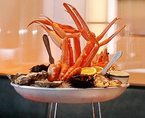 вкусные лучшие рыбные ресторан в центре Миланаmilano langosteria cafe