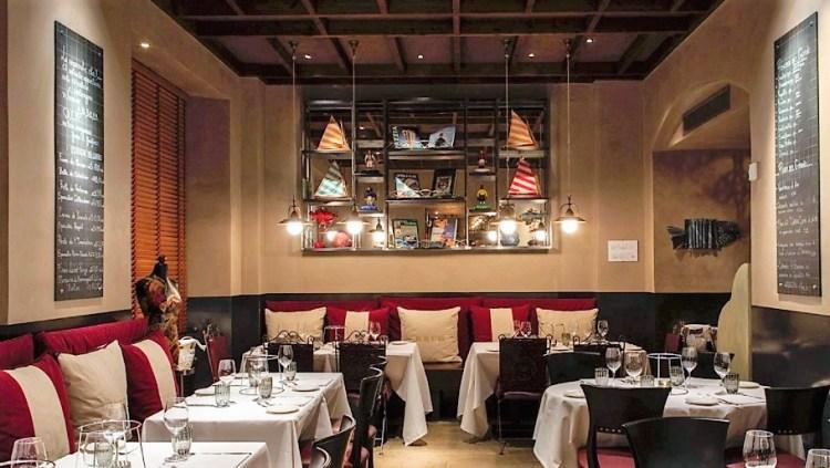 langosteria лучший рыбный ресторан Милан