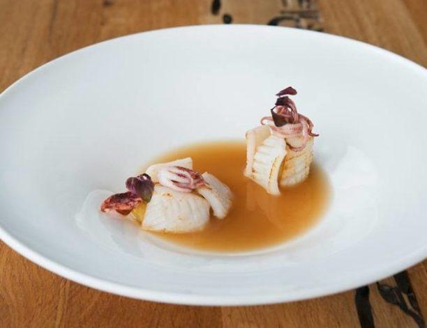 вкусно поесть морепродукты в Милане - звездный ресторан Мишлен