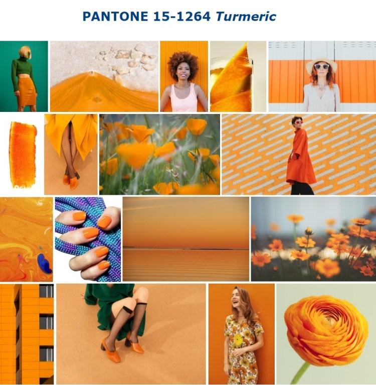 Color trend SS 2019 PANTONE 15-1264 Turmeric - Куркума