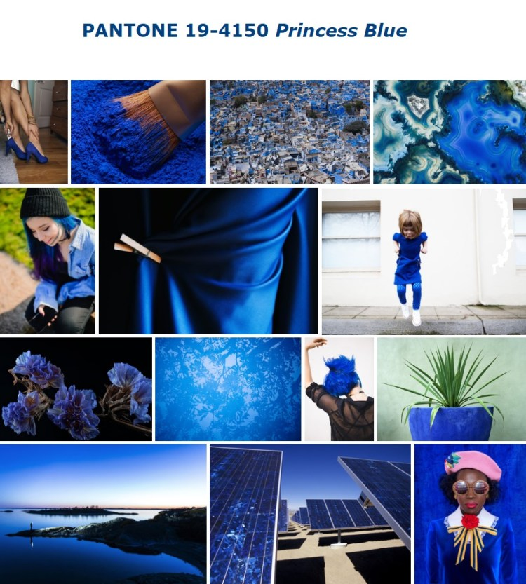 PANTONE 19-4150 Princess Blue Принцесса синий
