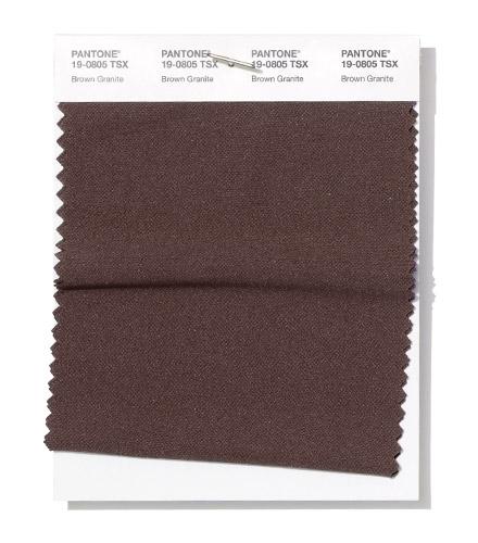 PANTONE 19-0805 Brown Granite - Коричневый гранит