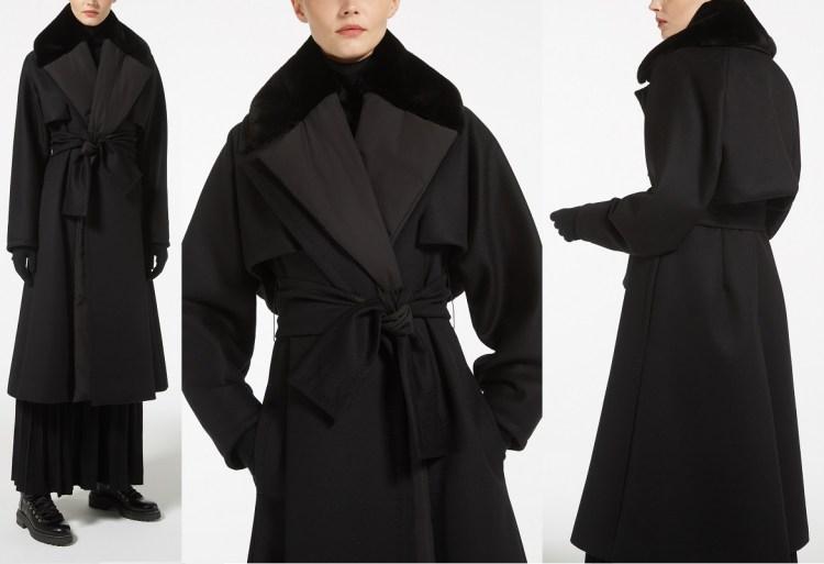 модное пальто Макс Мара Ателье в Милане осень зима 2018 2019