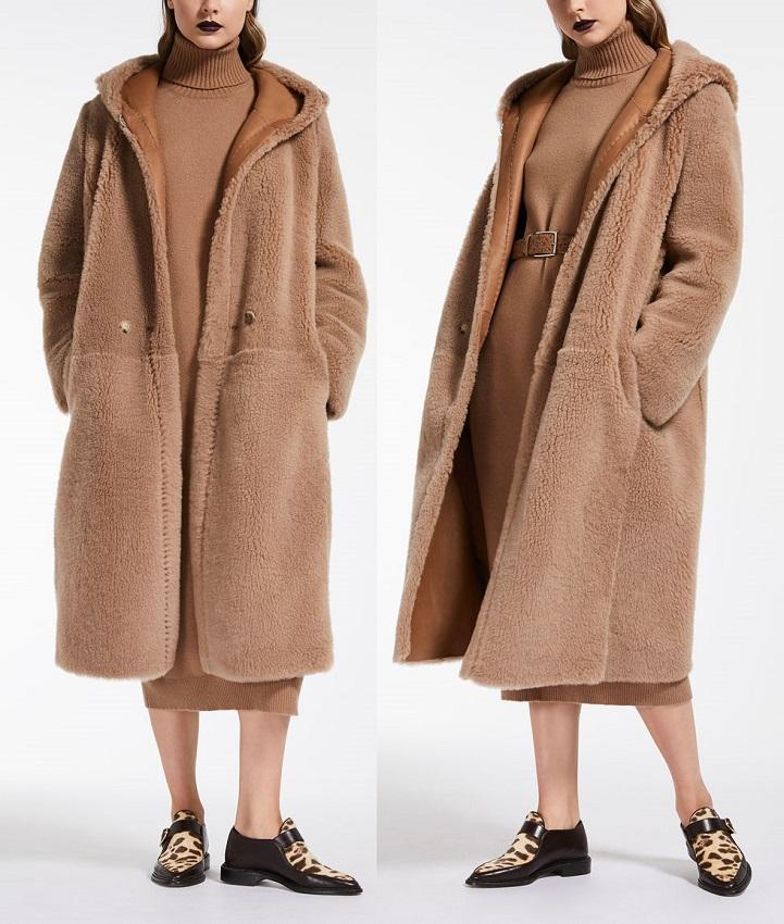 Макс Мара пальто Teddy Милан цена зима 2018 2019
