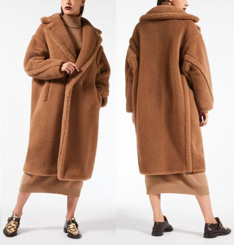Teddy Bear Icon Coat Max Mara