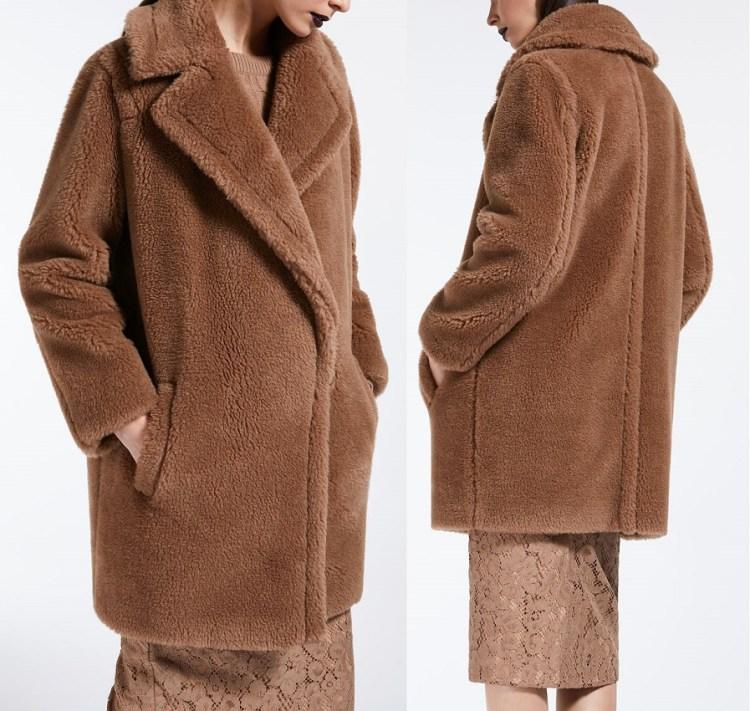 Max mara Teddy Bear Icon Coat UBERTA