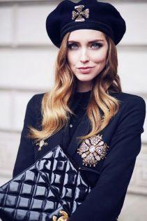 как правильно модно носить крупную брошь