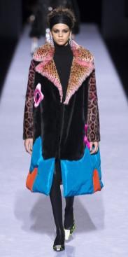 модные шубы зима 2019 тенденция леопард и животный принт Tom Ford