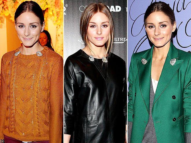 как правильно стильно носить модную брошь