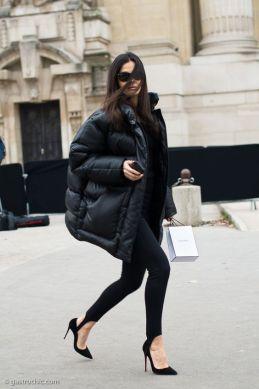 puffer streetstyle fashion trend winter 2018 2019